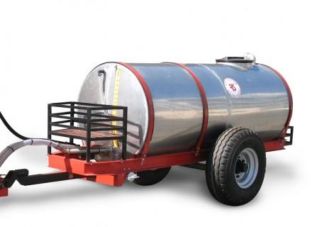 הגדול מרסס לחקלאות על עגלה נגררת - מרססי רז KA-01