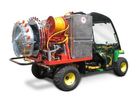 ציוד לחקלאות - מפוח 620 על רכב